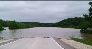 Highway 63 flooding near Vienna