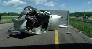 Blowover crash