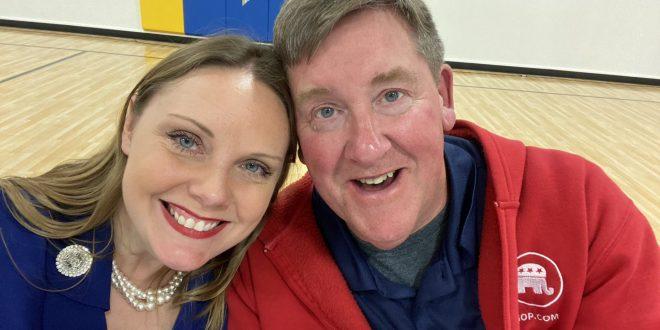 Sara and Steve Walsh